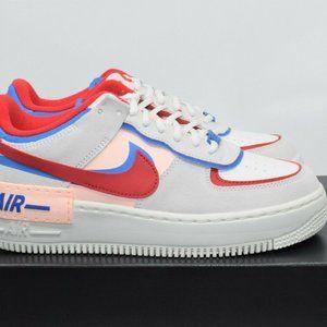 Nike Air Force 1 Shadow Sail Red Blue CU8591-100